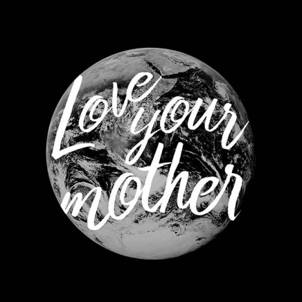 Love Your Mother Poster in der Gruppe Poster / Typografie Poster bei Desenio AB (10135)