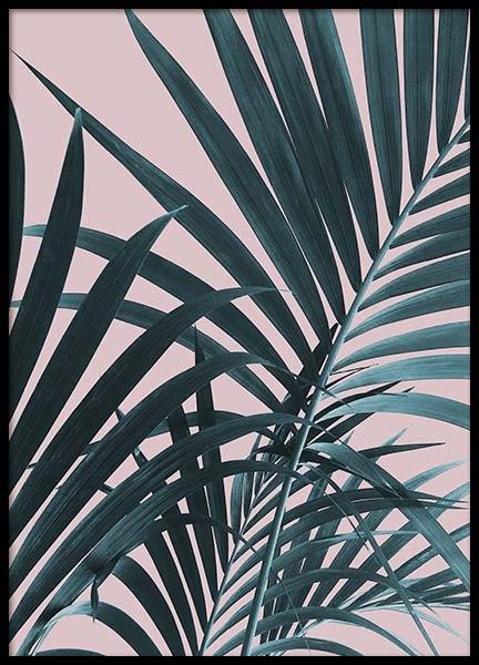 Pastel Palm No1 Poster