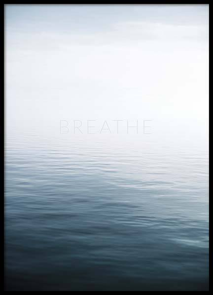 Breathe by the Sea Poster in der Gruppe Poster / Naturmotive bei Desenio AB (10491)