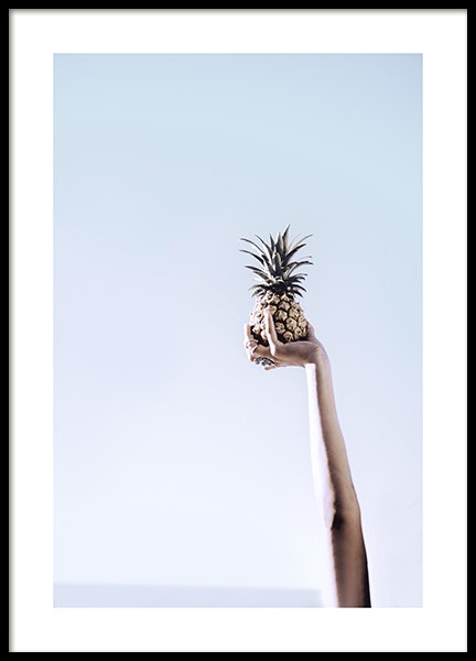 Pineapple Against the Sky Poster in der Gruppe Poster / Fotografien bei Desenio AB (10663)