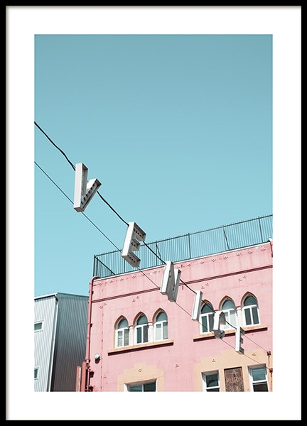Venice sign Poster
