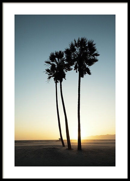 Los Angeles Sunset Poster in der Gruppe Studio Collections / Studio Coast to Coast / Los Angeles bei Desenio AB (10786)