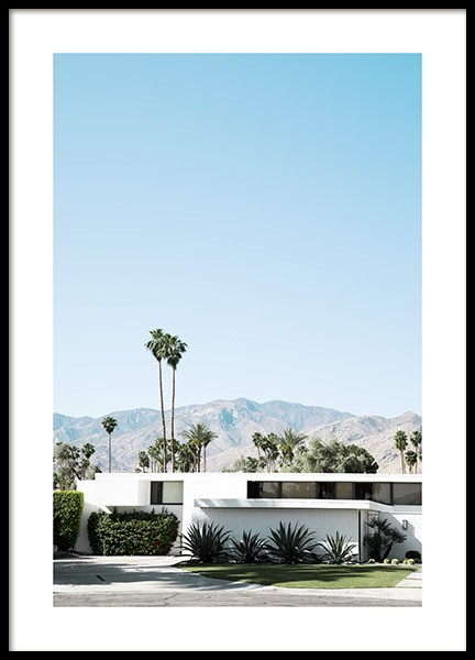 Palm Springs Modernism Poster in der Gruppe Poster / Fotografien bei Desenio AB (10796)