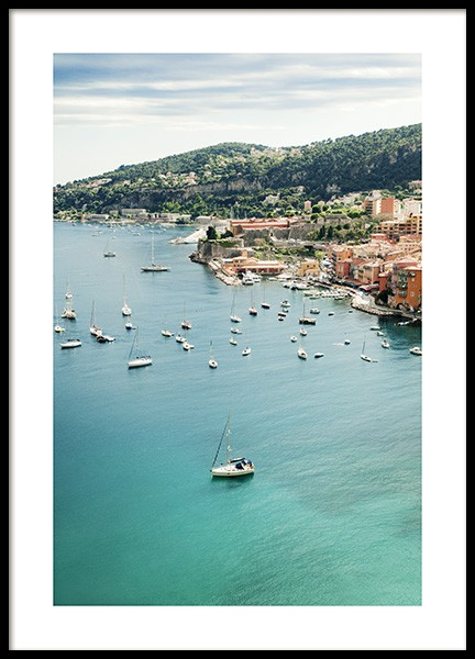Sea View France Poster in der Gruppe Poster / Naturmotive bei Desenio AB (10894)