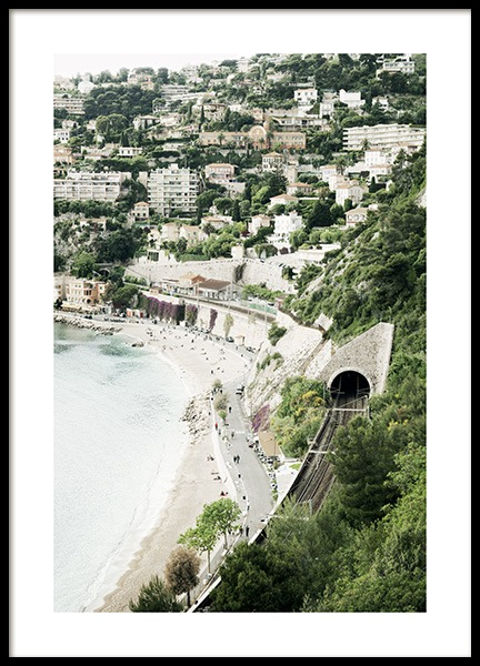 View French Riviera Poster in der Gruppe Poster / Naturmotive bei Desenio AB (10896)