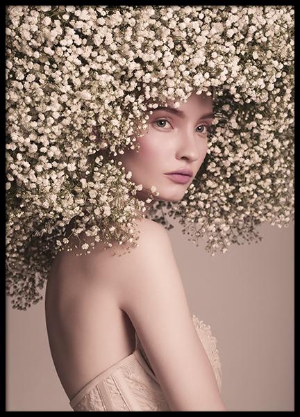 Flower Hair Poster