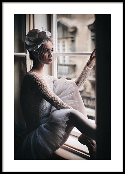 Young Ballerina Poster