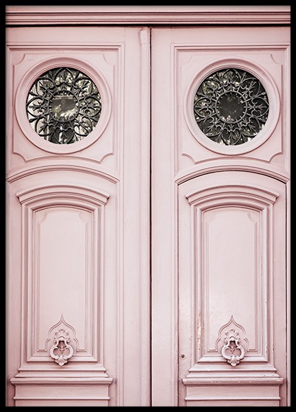 Pink Door Poster in der Gruppe Poster / Studio Collections / Studio Cosmopolitan / Paris bei Desenio AB (11349)