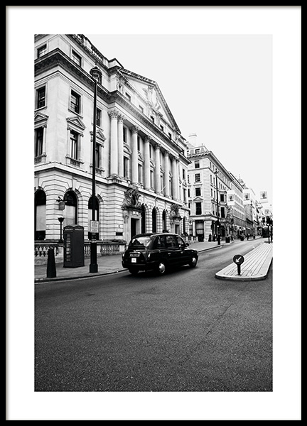 London Taxi Poster in der Gruppe Studio Collections / Studio Cosmopolitan bei Desenio AB (11363)