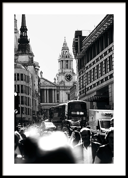 Streets of London Poster in der Gruppe Studio Collections / Studio Cosmopolitan bei Desenio AB (11365)