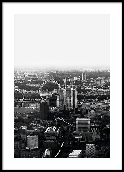 London View Poster in der Gruppe Poster / Studio Collections / Studio Cosmopolitan / London bei Desenio AB (11374)