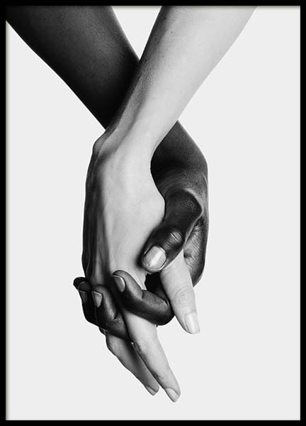 Holding Hands No2 Poster