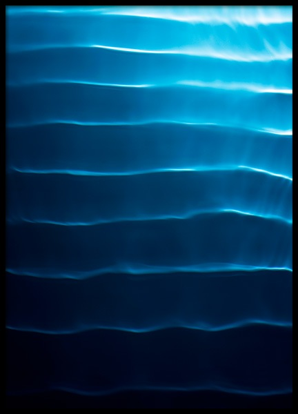 Surface Waves Poster in der Gruppe Poster / Naturmotive bei Desenio AB (11921)