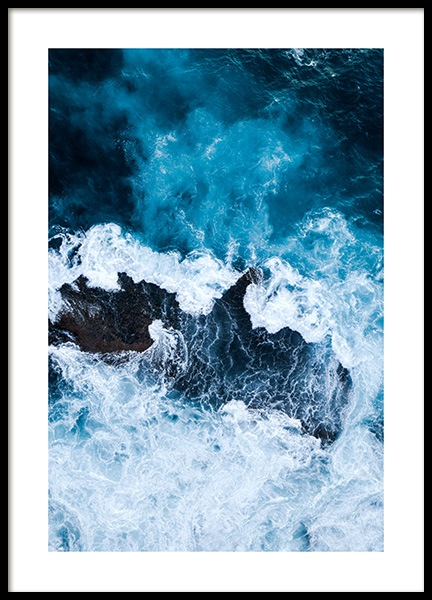 Rough Sea Poster in der Gruppe Poster / Naturmotive bei Desenio AB (12067)