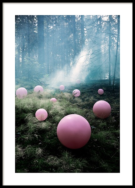 Forest Light Poster in der Gruppe Poster / Studio Collections / Studio Mystery bei Desenio AB (12194)
