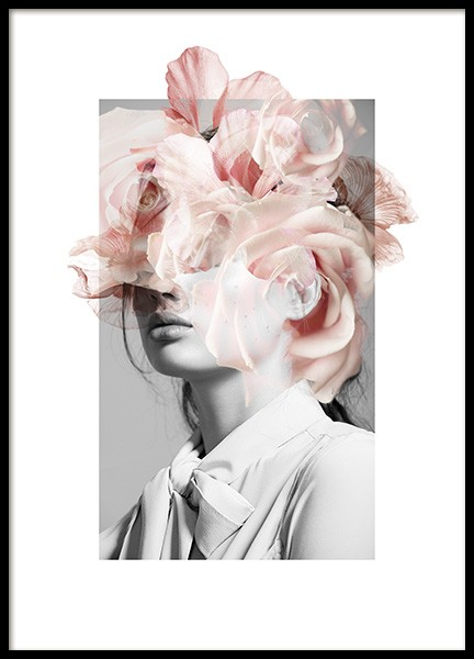 Expressive Flowers No2 Poster