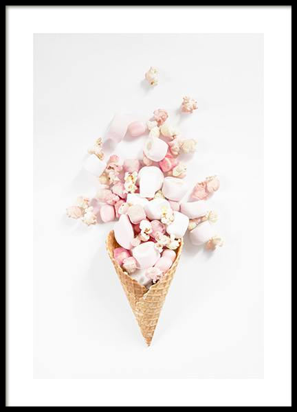 Candy Cone Poster