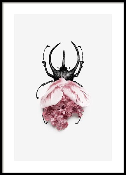 Flower Bug Poster