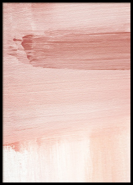 Abstract Painting Pink No1 Poster in der Gruppe Poster / Kunstdrucke bei Desenio AB (12894)