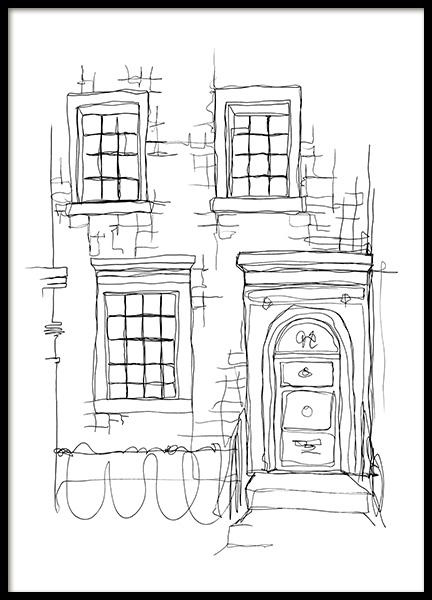Notting Hill Door Poster