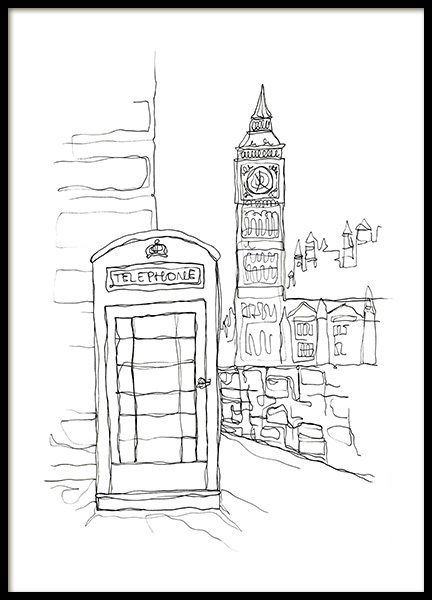 Calling For London Poster