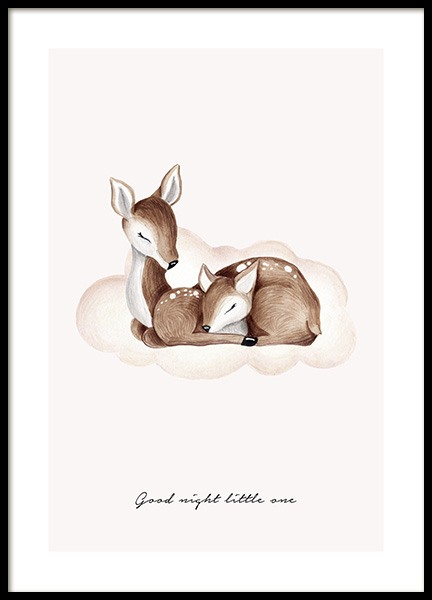 Good Night Little One Poster in der Gruppe Poster / Kinder bei Desenio AB (13073)