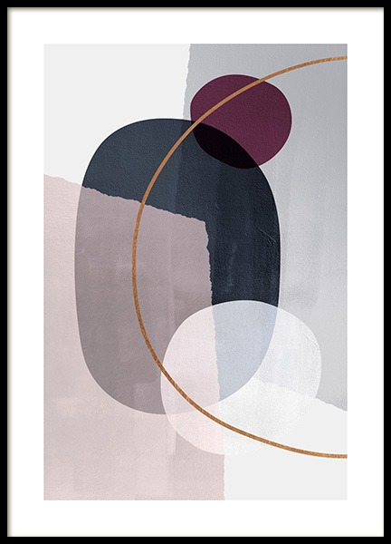 Abstract Color Blocks No2 Poster in der Gruppe Poster / Kunstdrucke bei Desenio AB (13227)