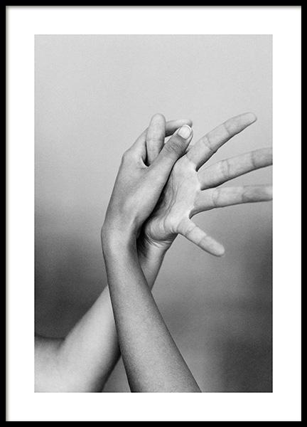 Entangled Fingers No1 Poster