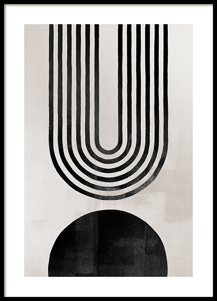 Berlin Arches No2 Poster