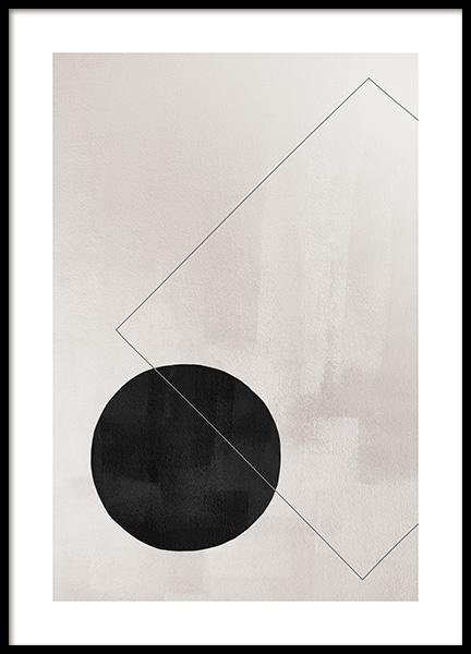 Berlin Squares No2 Poster