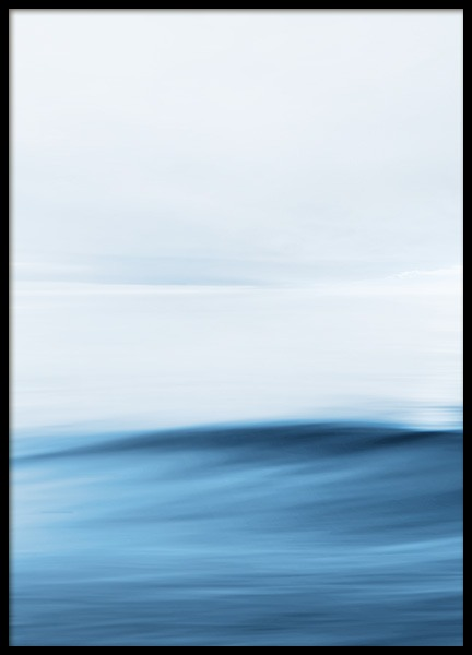 Abstract Horizon No1 Poster in der Gruppe Poster / Naturmotive bei Desenio AB (13330)
