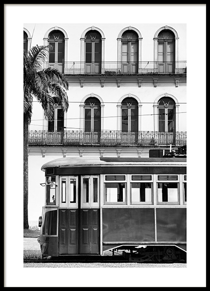 20th Tram Poster