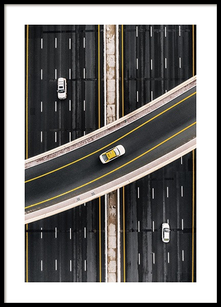 Crossing the Highway Poster