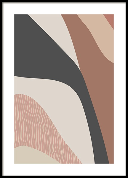 Abstract Foliage No2 Poster in der Gruppe Poster / Grafische Kunst bei Desenio AB (14028)