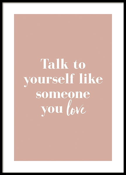 Like Someone You Love Poster in der Gruppe Poster / Poster mit Sprüchen / Motivationsbilder bei Desenio AB (14148)