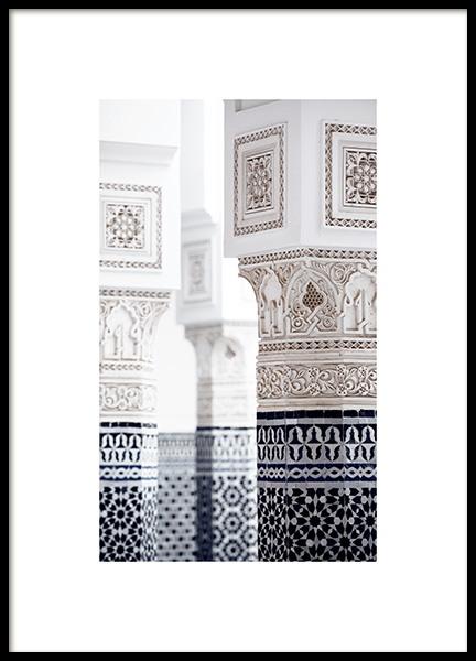 Oriental Luxury Poster