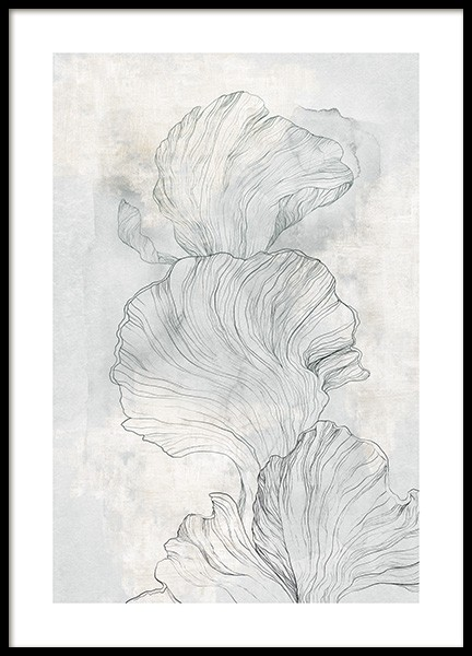 Abstract Coral No2 Poster in der Gruppe Poster / Kunstdrucke bei Desenio AB (14292)