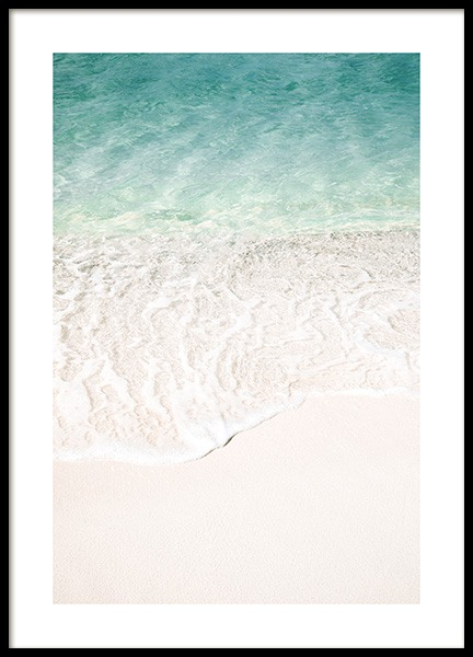 Ocean Touch Poster