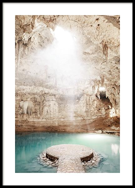 Cenote Underground Poster