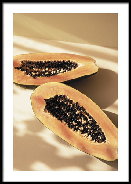 Papayas In The Sun Poster
