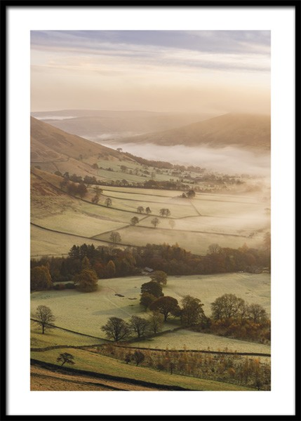 Edale Valley Poster