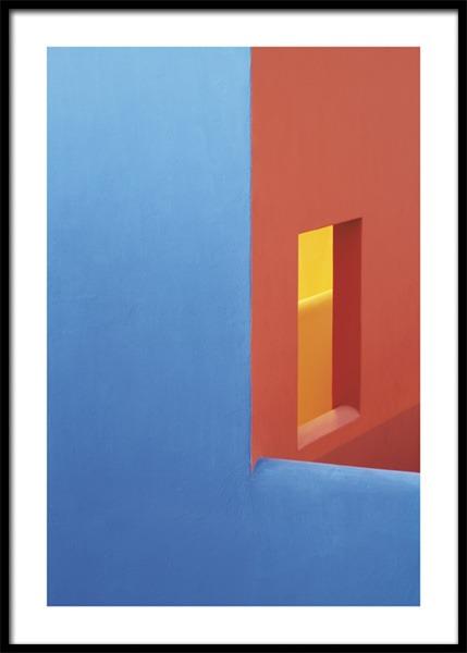 Colorful Walls No1 Poster