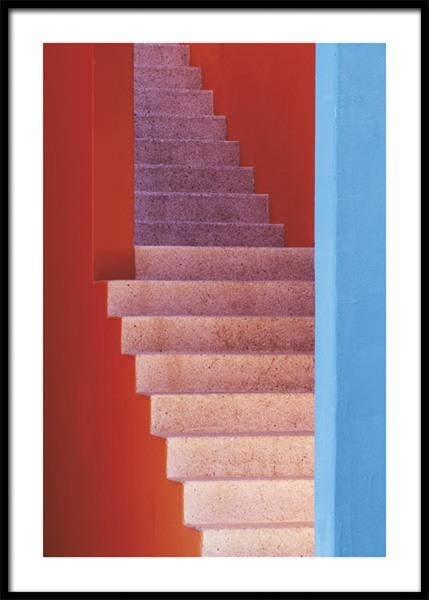 Colorful Walls No2 Poster