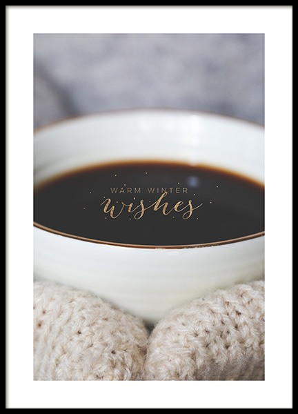 Warm Winter Wishes Poster