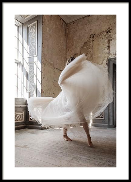Graceful Dancing Poster
