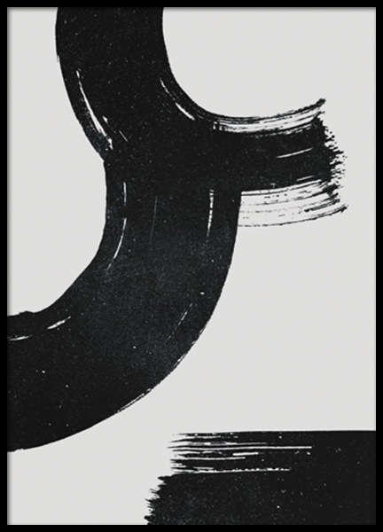 Three Strokes Poster