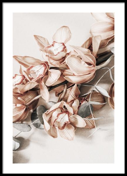Autumn Floral No2 Poster