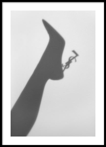 Fashion Shadow Poster