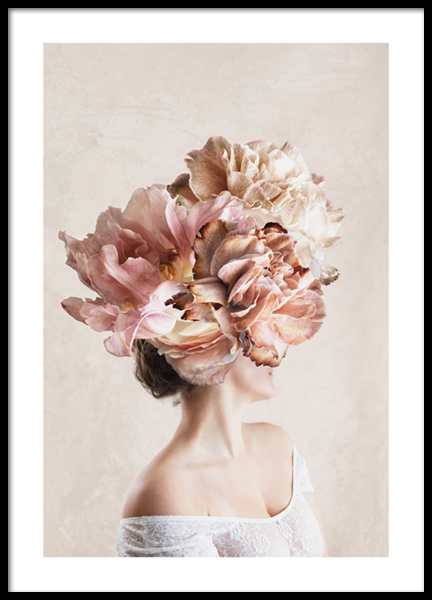 Flower Lady No2 Poster