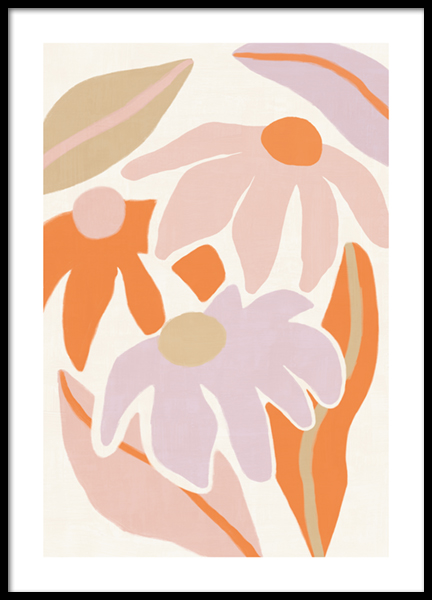 Flowerbed Poster